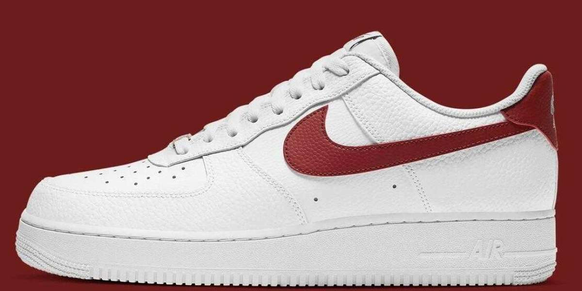 2021 Nike Air Force 1 Low '07 White Team Red Coming Soon